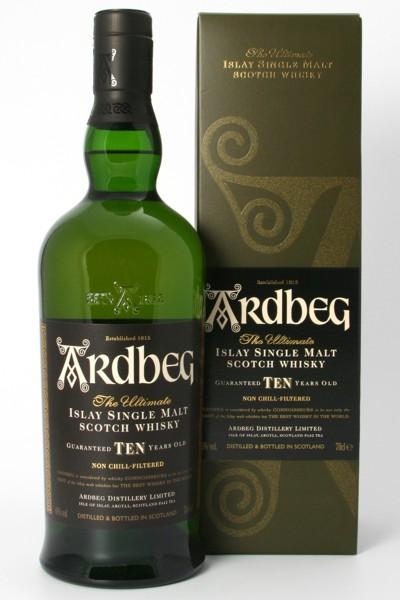 Ardbeg Ten - 10 Jahre - The Ultimate Islay Single Malt Scotch Whisky