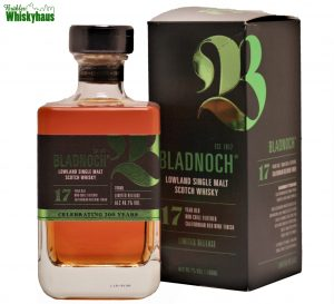Bladnoch 17 Jahre - Bourbon, California Red Wine Cask Finish - Distillery Bottling Celebrating 200 years - Single Malt scotch Whisky