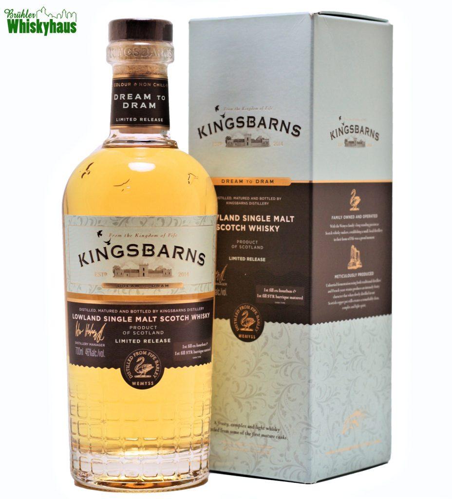 Kingsbarns - 1st Fill Ex-Bourbon & 1st Fill Ex-Wine - Distillery Bottling Limited Release - Single Malt Scotch Whisky