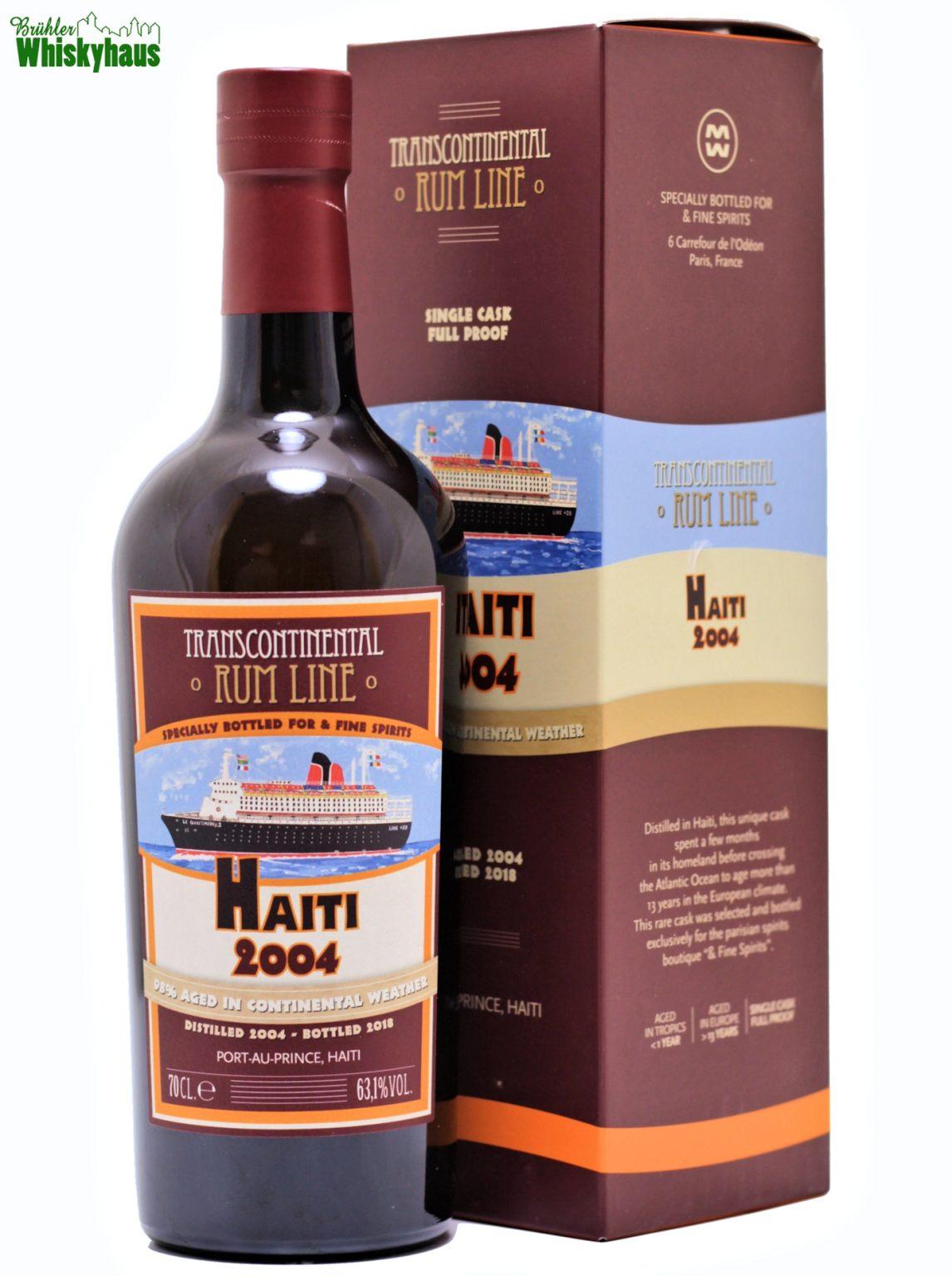 Transcontinental Rum Line 14 Jahre - Haiti 2004 - La Maison de Whisky - Single Cask Rum