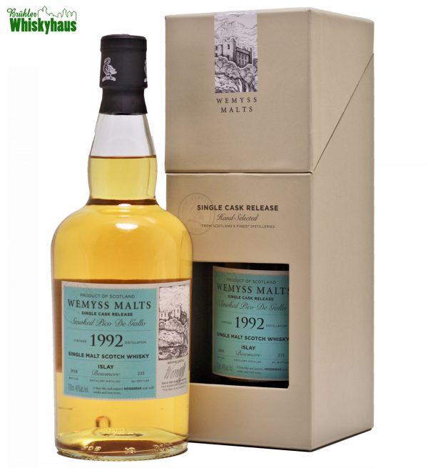 Bowmore 26 Jahre - Hogshead - Wemyss Malt Smoked Pico de Gallo - Single Malt Scotch Whisky