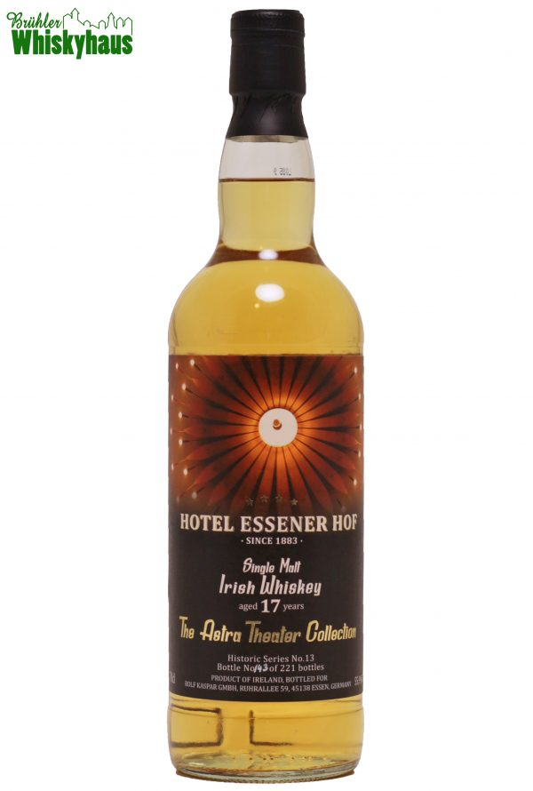 Hotel Essener Hof-The Astra Theater Collection 17 Jahre - Ex-Bourbon Cask 3379 - Rolf Kaspar GmbH - Single Malt Irish Whisky