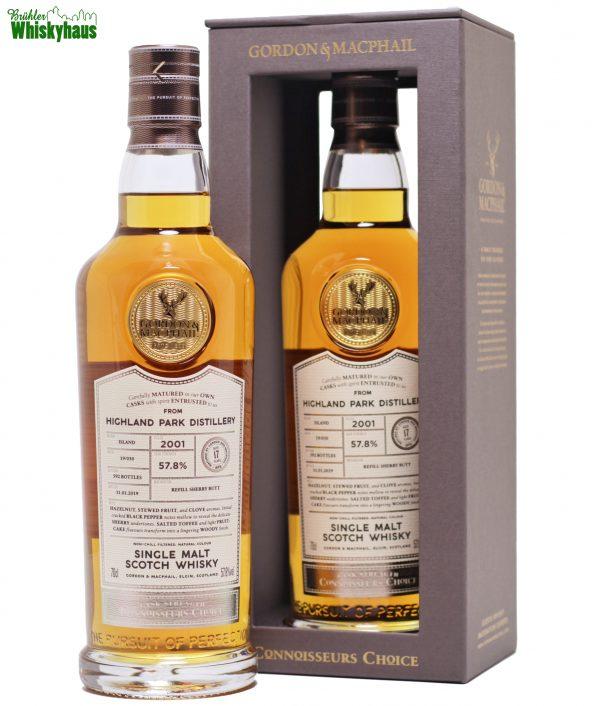 Highland Park 17 Jahre - Refill Sherry Butt Batch 19/030 - Gordon & McPhail Connoisseurs Choice - Single Malt Scotch Whisky