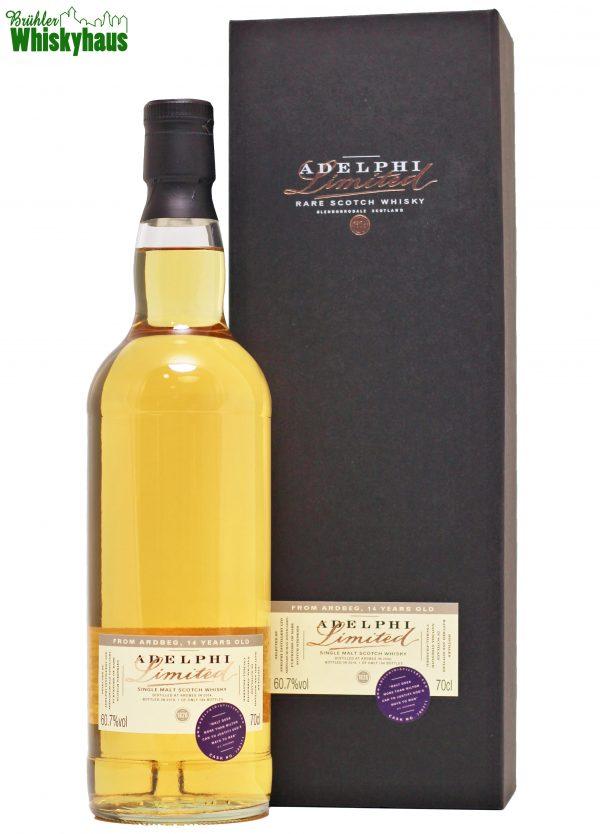 Ardbeg 14 Jahre - Bourbon Cask N°700171 - Adelphi Selection - Single Malt Scotch Whisky