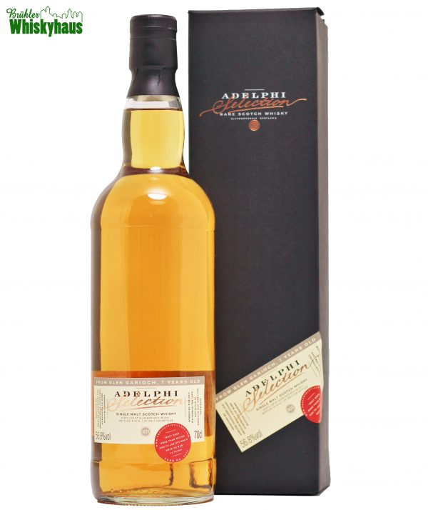 Glen Garioch 7 Jahre - Refill Sherry Cask 2370 - Adelphi Selection - Single Malt Scotch Whisky