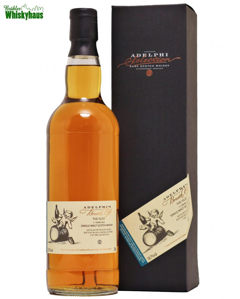 Breath of the Isles 11 Jahre - Refill Sherry Butt - Adelphi - Single Malt Scotch Whisky