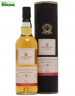 Arran 8 Jahre - 1st Fill Bourbon Barrel N° 2 - A.D.Rattray - Single Malt Scotch Whisky