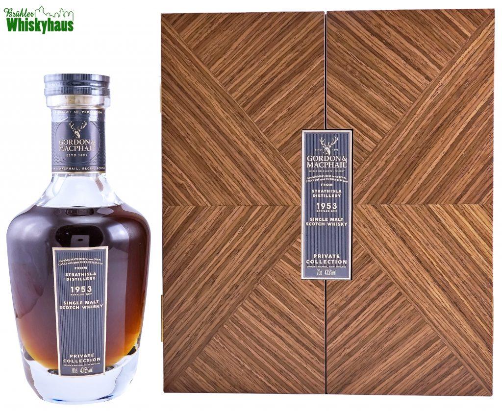 Strathisla 65 Jahre - Vintage 1953 - 1st Fill Sherry Butt - Private Collection by Gordon & MacPhail - Single Malt Scotch Whisky