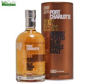 Port Charlotte 2007 CC01 - 8 Jahre - Eau de Vie from the Western Cognac Region - Distillery Bottling - Single Malt Scotch Whisky