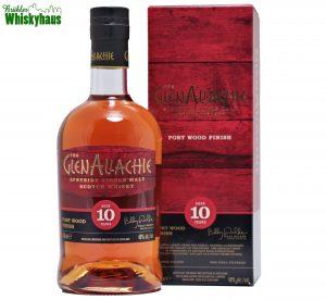 Glenallachie 10 Jahre - Port Wood Finish - Distillery Bottling - Wood Finish Series - Single Malt Scotch Whisky