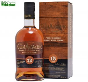 Glenallachie 12 Jahre - Pedro Ximenez Sherry Wood Finish - Distillery Bottling Wood Finish Series - Single Malt Scotch Whisky