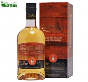 Glenallachie 8 Jahre - Koval Rye Quarter Cask Wood Finish - Distillery Bottling Wood Finish Series - Single Malt Scotch Whisky