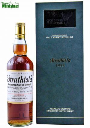 Strathisla Vintage 1953 - 58 Jahre - 1st Fill Sherry Butt N° 1614 - Licensed Bottling by Gordon & MacPhail - Single Malt Scotch Whisky