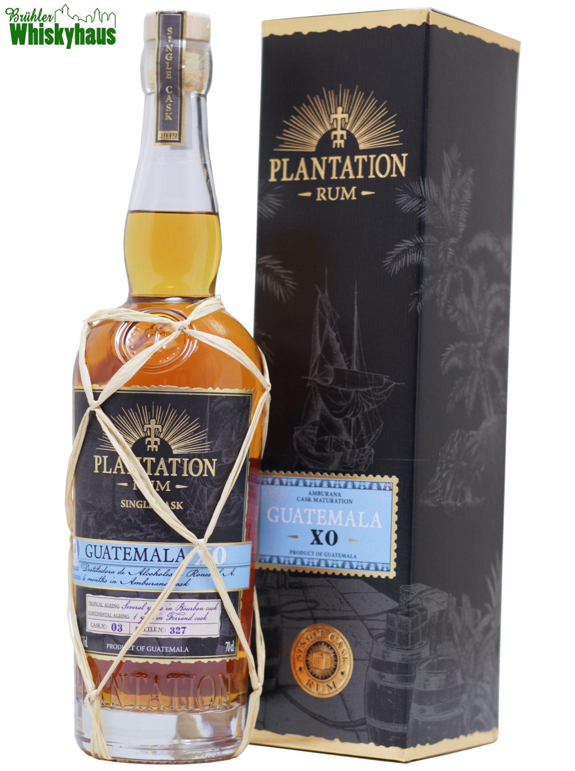 Guatemala XO - Cask No. 03 - Amburana Cask Finish - Plantation Single Cask Rum