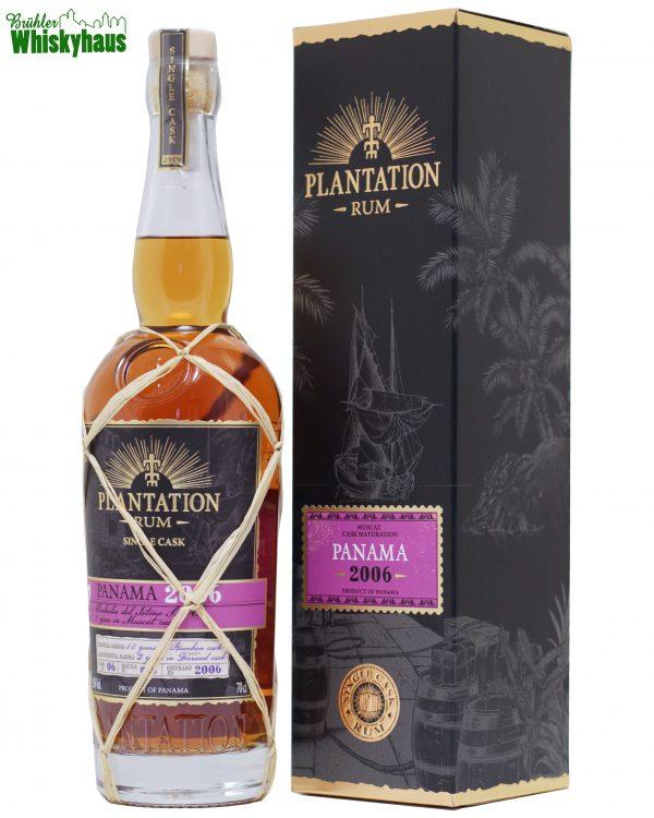 Panama 12 Jahre - Vintage 2006 - Cask No. 06 - Muscat Cask Finish für zwei Jahre - Plantation Single Cask Rum