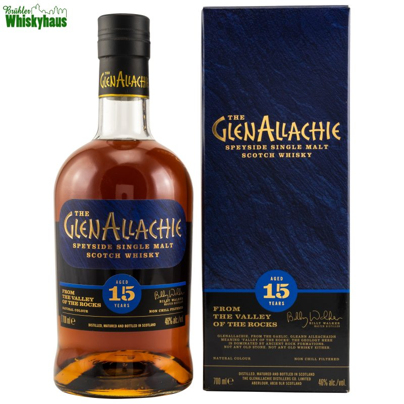 Glenallachie 15 Jahre - 20 Monate gefinished in Pedro Ximenz & Oloroso Sherryfässern - Speyside Single Malt Whisky