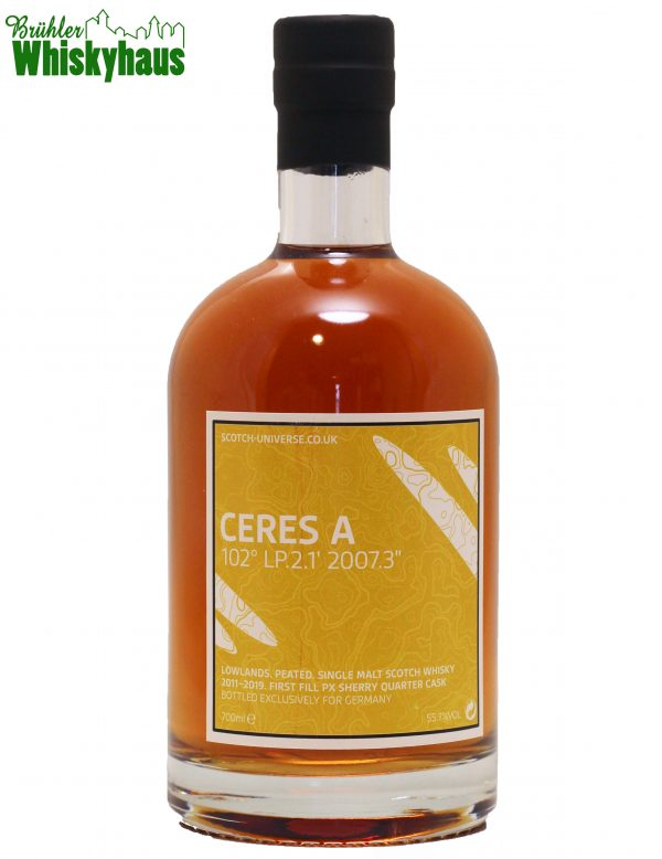"Scotch Universe Ceres A - 102° LP.2.1' 2007.3"" - 1st Fill PX-Sherry Quarter Cask - Scotch Universe - Single Malt Scotch Whisky"