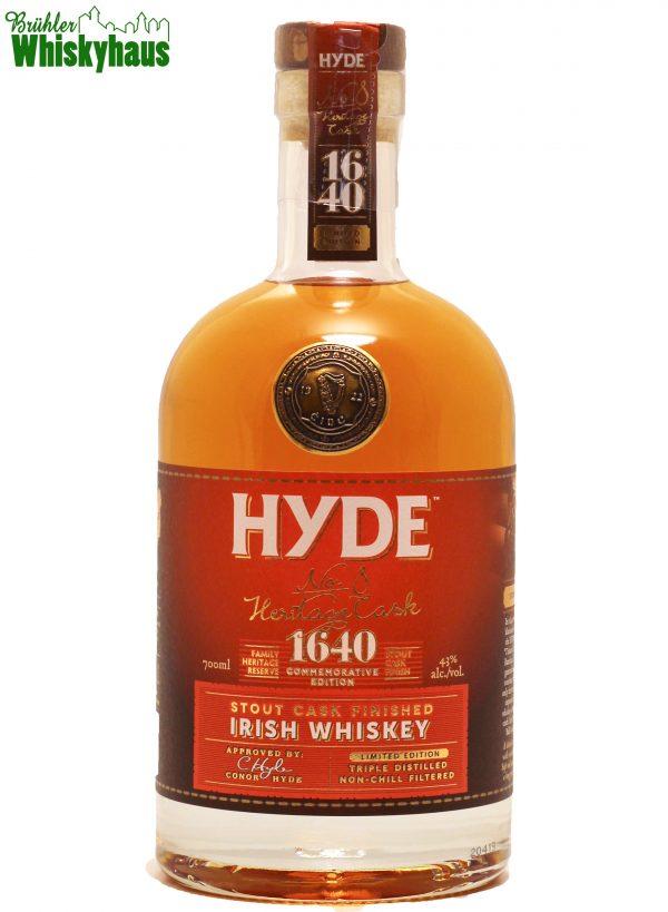 Hyde N°8 - The Heritage Cask - Hibernia Distillers - Single Malt Irish Whisky