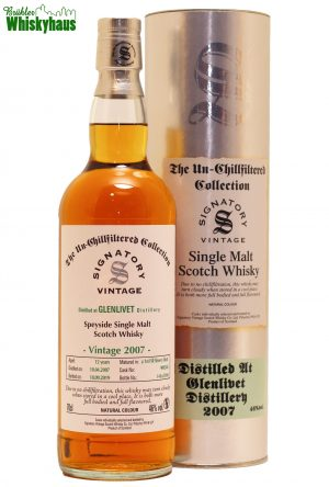 Glenlivet 12 Jahre - 1st Fill Sherry Butt N° 900248 - Signatory Vintage - Single Malt Scotch Whisky