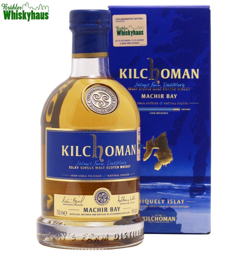 Kilchoman Machir Bay Collaborative Vatting - selected by Brühler Whiskyhaus - 87,5% Bourbon, 12,5% Sherry Cask Influence - Islay Single Malt Scotch Whisky