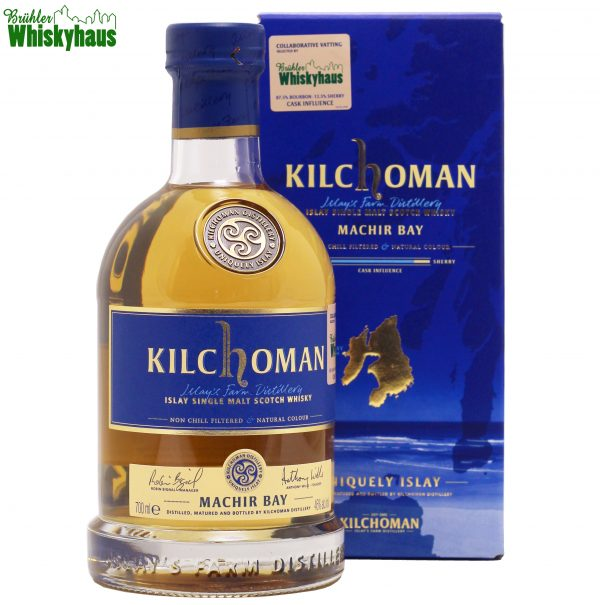 Kilchoman Machir Bay Collaborative Vatting - selected by Brühler Whiskyhaus - 87,5% Bourbon, 12,5% Sherry Cask Influence - Islay Single Malt Scotch Whisky