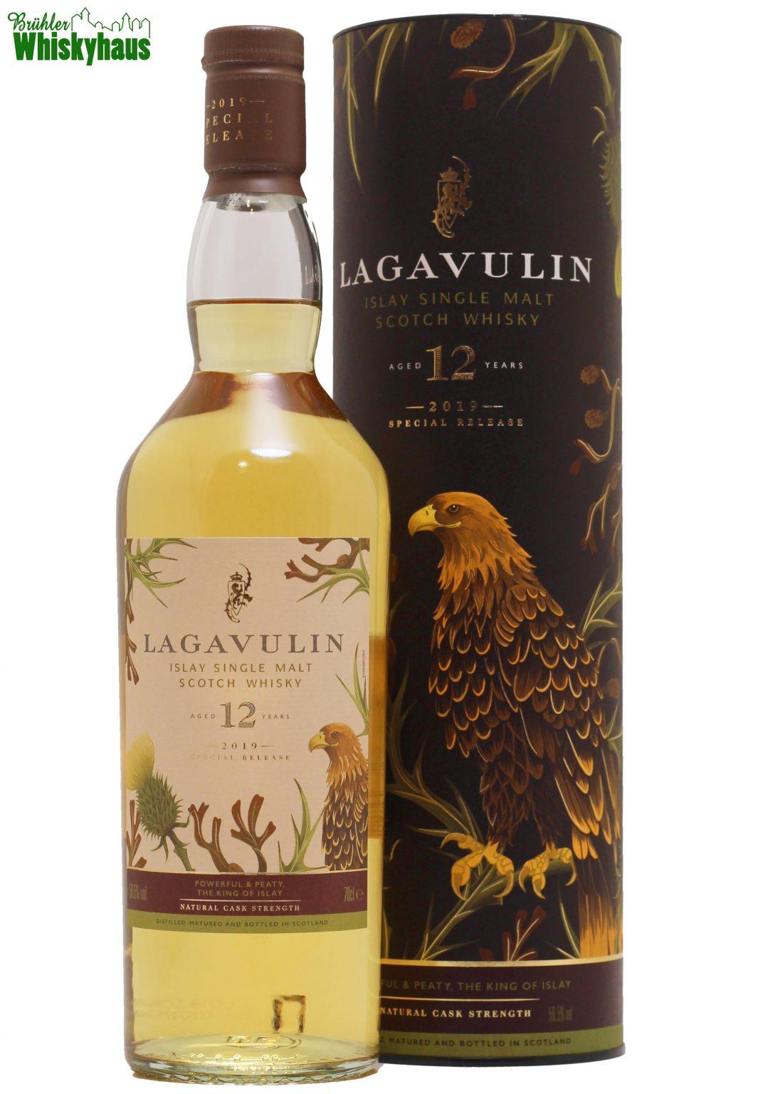 Lagavulin 12 Jahre - American Hogshead - Distillery Bottling Diageo Special Releases 2019 - Single Malt scotch Whisky