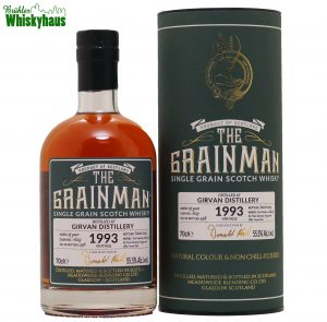Girvan 25 Jahre - Radoux Cask N°.1629 - The Grain Man - Single Grain Scotch Whisky