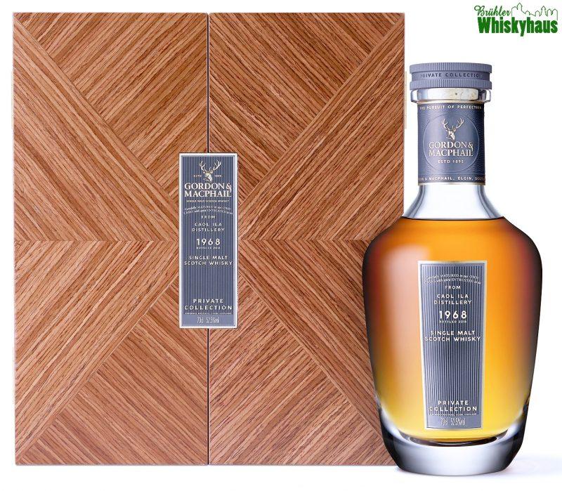 Caol Ila 50 Jahre - Vintage 1968 - Refill Sherry Hogshead No. 4021901 - Private Collection by Gordon & MacPhail - Single Malt Scotch Whisky