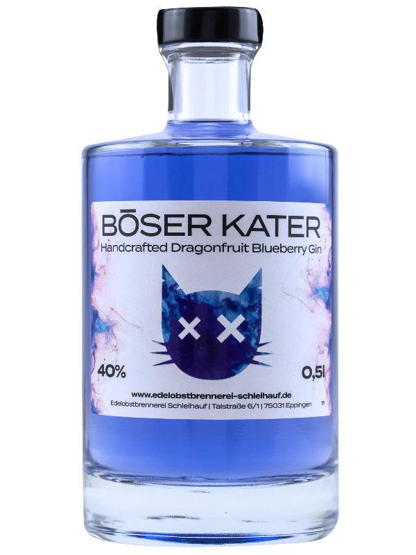 Produktbild Böser Kater Dragonfruit Blueberry Gin