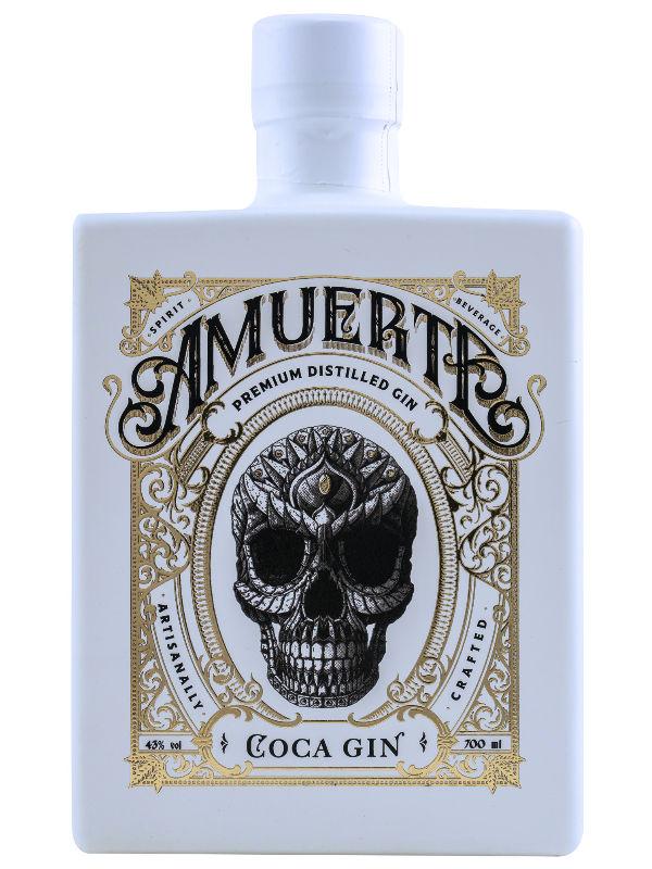 Produktbild Amuerte Coca Leaf Gin White Edition