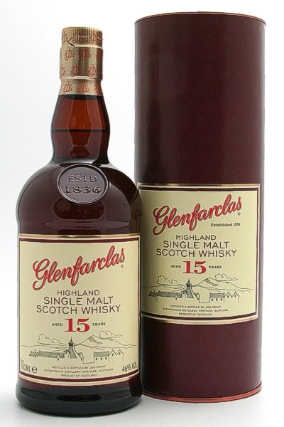Glenfarclas 15 Jahre - Highland Single Malt Scotch Whisky