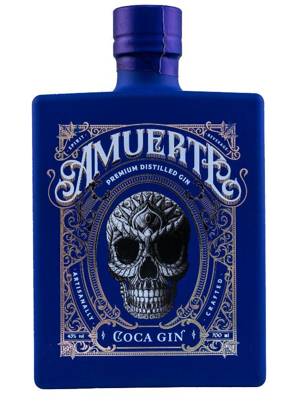 Produktbild Amuerte Coca Gin Blue Edition
