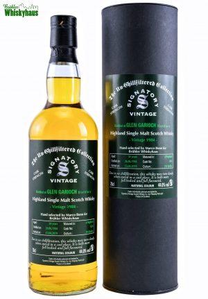 Glen Garioch 34 Jahre – Hogshead N°5034 – Highland Single Malt Scotch Whisky – Hand selected by Marco Bonn for Brühler Whiskyhaus – Signatory Vintage