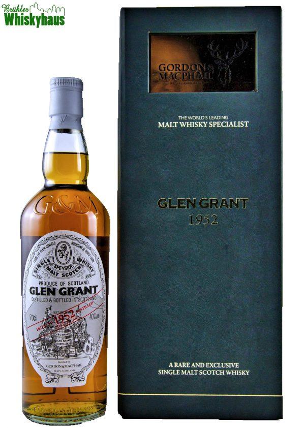 Glen Grant Vintage 1952 - 59 Jahre - First Fill & Refill Sherry Casks - Gordon & MacPhail - Single Malt Scotch Whisky