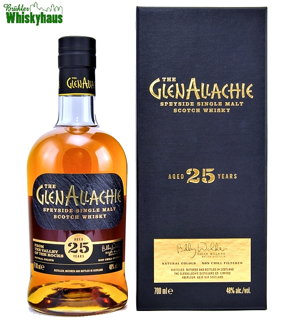 Glenallachie 25 Jahre - Speyside Single Malt Scotch Whisky