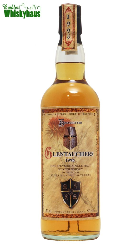 Glentauchers 19 Jahre - Bourbon Cask - Kreuzritter by Jack Wiebers Whisky World - Single Malt Scotch Whisky