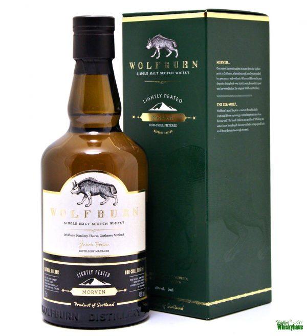 Wolfburn Morven - Lightly Peated - Single Malt Scotch Whisky