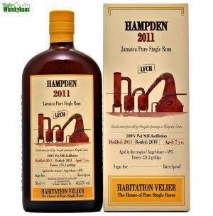 Hampden 7 Jahre - 100% Pot Still distilation - Jamaica Pure Single Rum - Habitation Velier