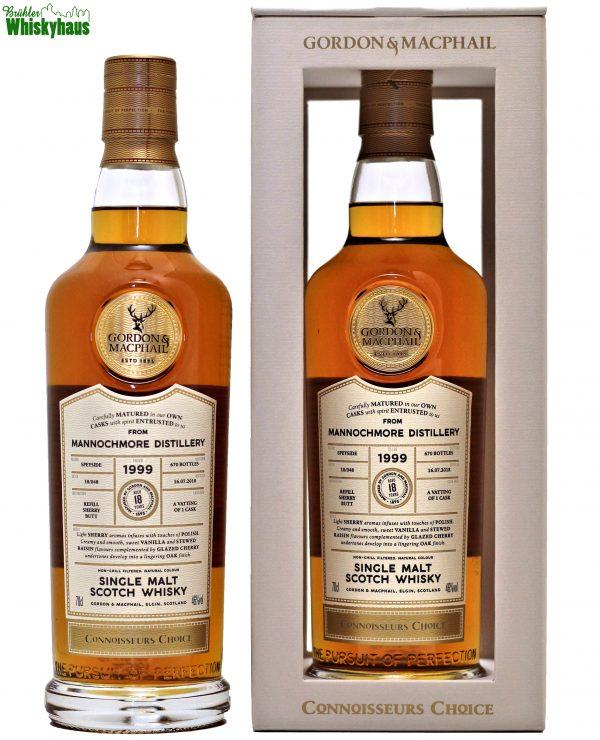 Mannochmore 18 Jahre - Refill Sherry Butt Batch 18/048 - Gordon & MacPhail - Single Malt Scotch Whisky