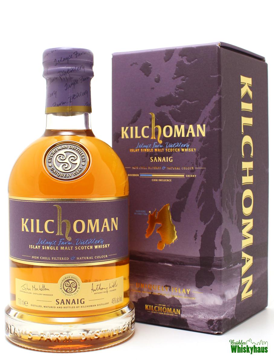 Kilchoman SANAIG - Islay Single Malt Scotch Whisky