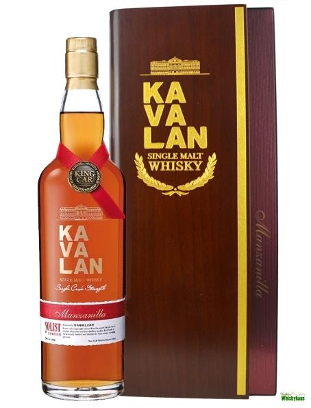 Kavalan Solist Manzanilla Sherry Single Cask Single Malt Whisky