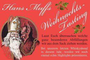 Whiskyabend - Hans Muffs Weihnachts-Tasting am 21. Dezember 2019