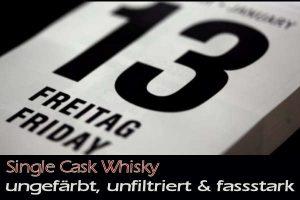 """Whiskyabend - Freitag der 13. """"Single Cask Whisky - ungefärbt, unfiltriert & fassstark"""" am 13. September 2019"""