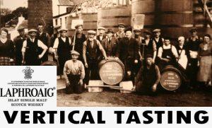 Whiskyabend - Laphroaig Vertical Tasting - Mitten aus dem Herzen der Insel Islay am 04. April 2020